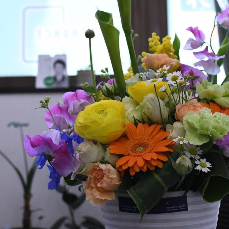 ガーベラ 空間を彩るガーベラの花言葉は「希望」・「前進」